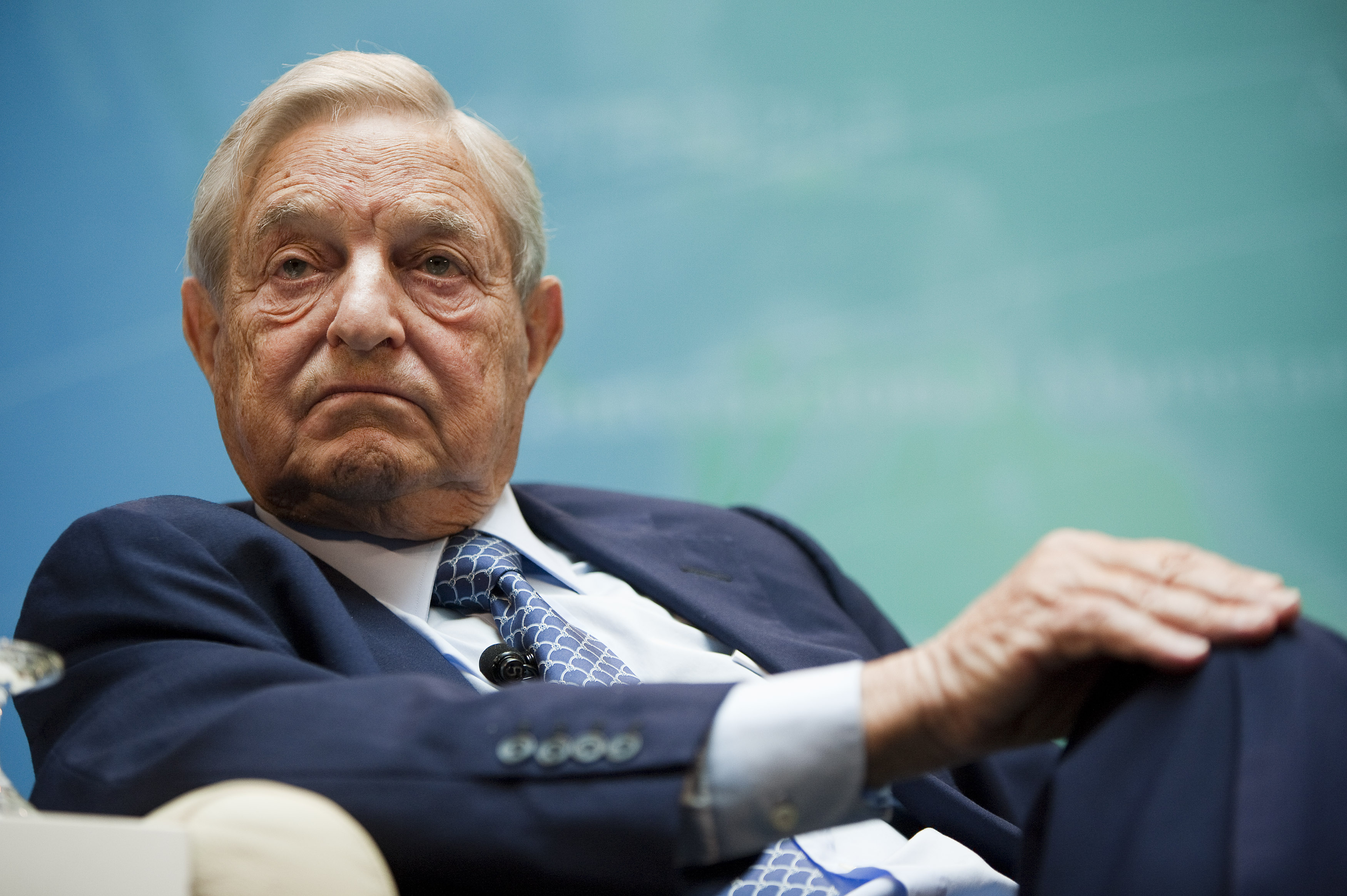 George Soros earned a  million dollar salary - leaving the net worth at 28000 million in 2018